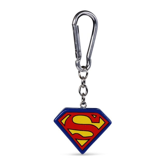 Superman Logo 3D Keychain - 2