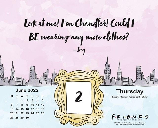 Friends Desk Block 2022 Calendar - 4