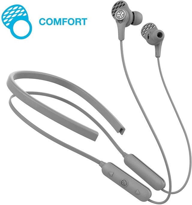 J-Lab Epic Executive Grey Active Noise Cancelling  Bluetooth Earphones - 2