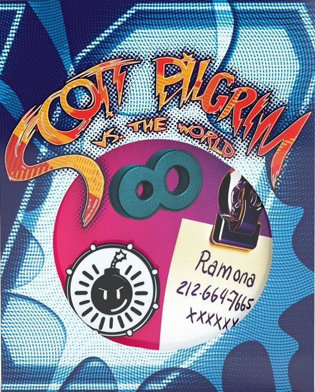 Scott Pilgrim Vs. The World Titans of Cult Limited Edition 4K Ultra HD Blu-ray Steelbook - 2