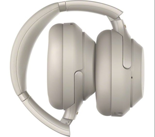 Sony WH-1000XM3 Silver Active Noise Cancelling Bluetooth Headphones - 3