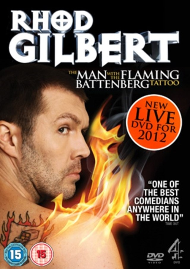 Rhod Gilbert: The Man With the Flaming Battenberg Tattoo - 1