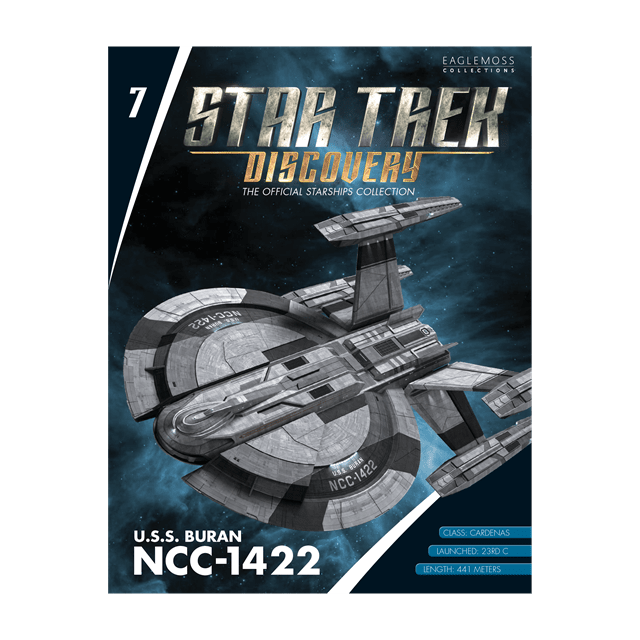 Star Trek Discovery: U.S.S. Buran NCC-1422 Starship Hero Collector - 3