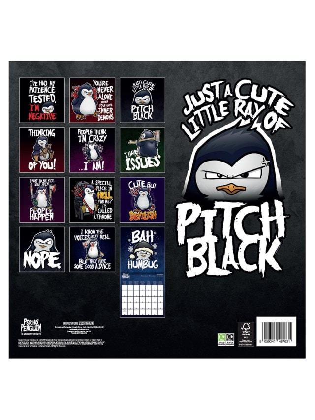 Psycho Penguin: Square 2022 Calendar - 3