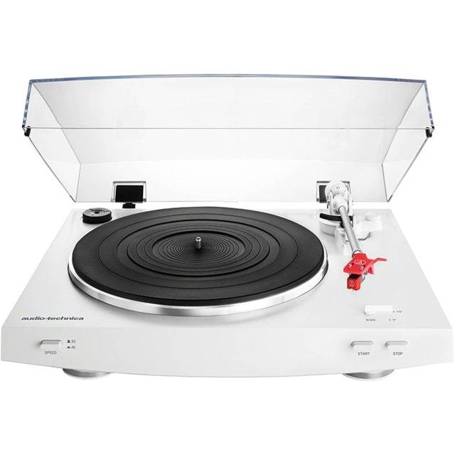 Audio Technica AT-LP3 White Turntable - 1