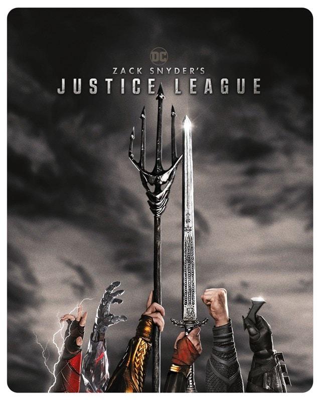 Zack Snyder's Justice League (hmv Exclusive) Limited Edition Steelbook - 3