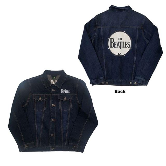 Beatles Drum Logo Denim Jacket (Small) - 1