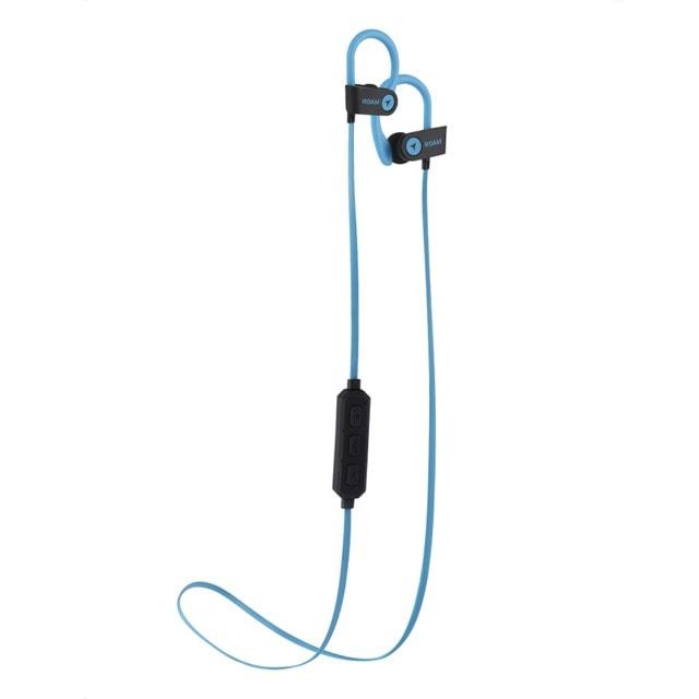 Roam Sport Ear Hook Blue Bluetooth Earphones - 1