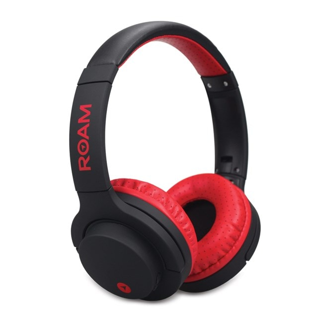 Roam Sports Pro Red Bluetooth Headphones - 1