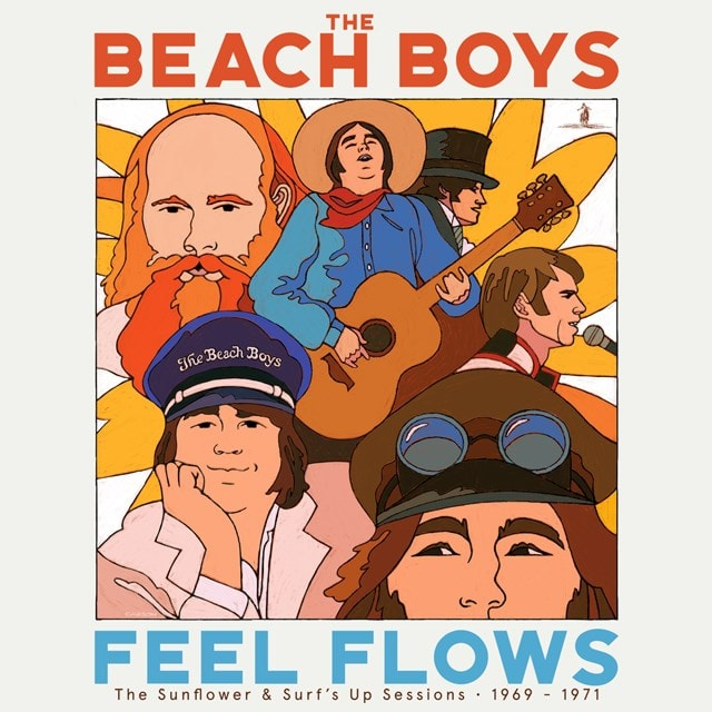 Feel Flows: The Sunflower & Surf's Up Sessions 1969-1971 - 5CD - 2
