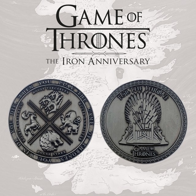 Game of Thrones: Iron Anniversary Limited Edition Medallion - 2