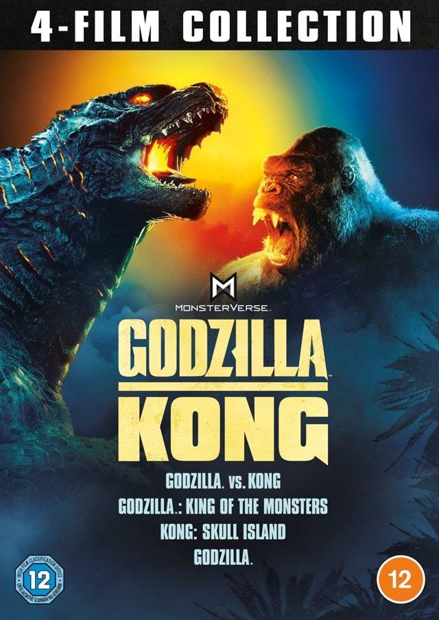 Godzilla and Kong: 4-film Collection - 1