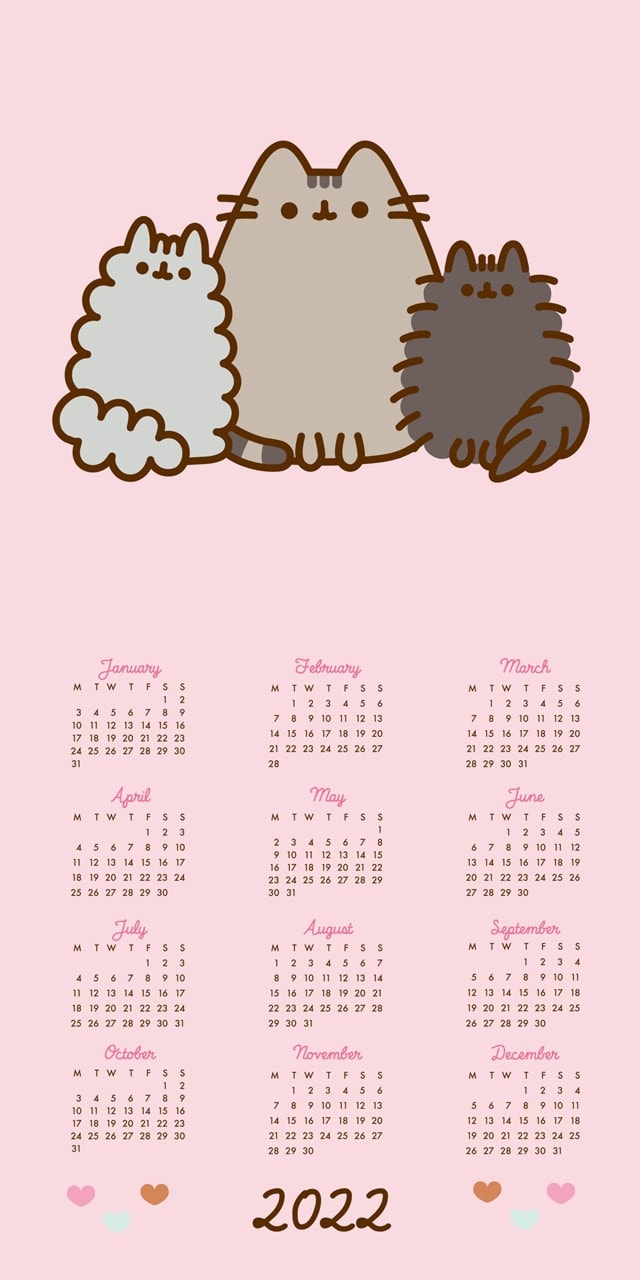 Pusheen Square 2022 Calendar - 4