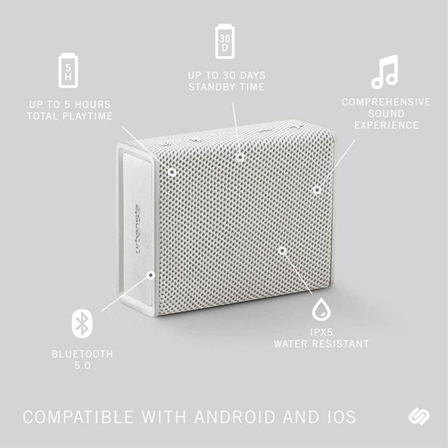 Urbanista Sydney White Mist Bluetooth Speaker - 3