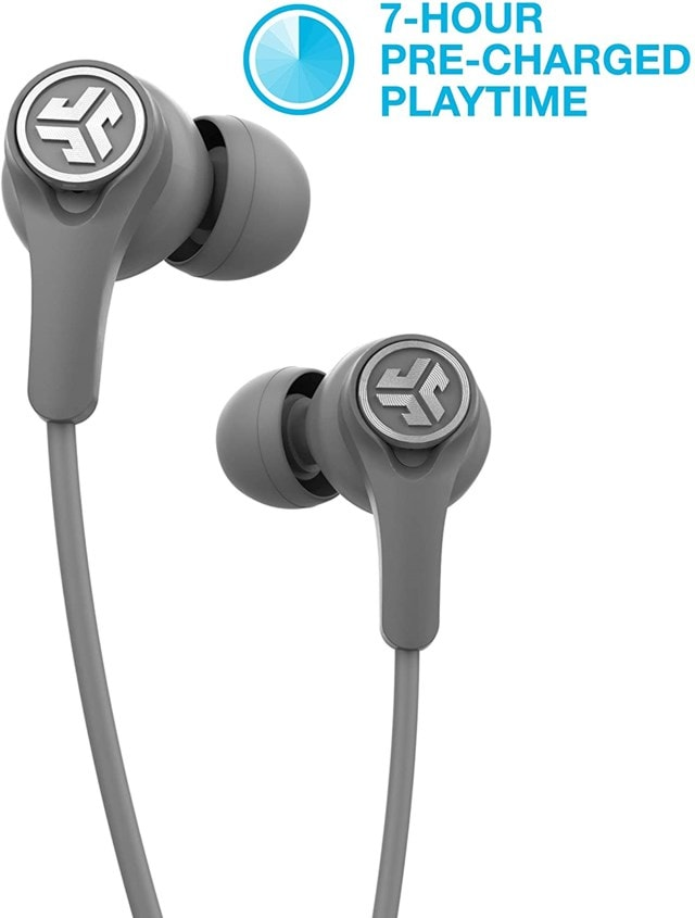J-Lab Epic Executive Grey Active Noise Cancelling  Bluetooth Earphones - 1