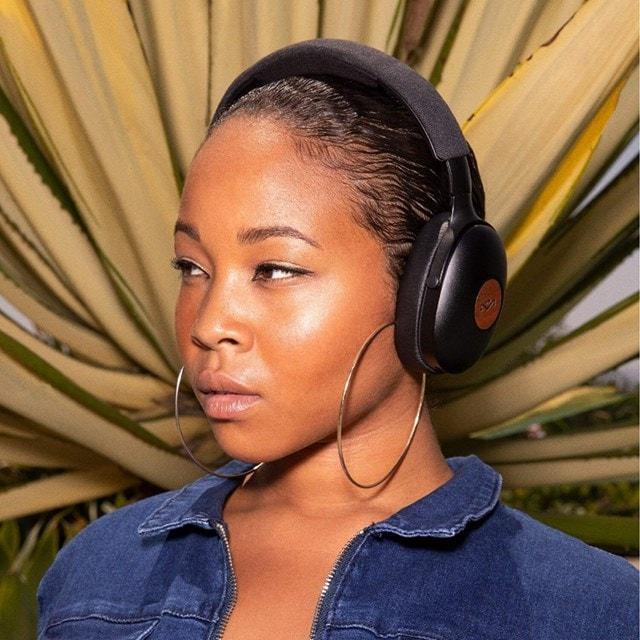 House Of Marley Positive Vibration XL Blue Bluetooth Headphones - 6