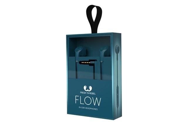 Fresh N Rebel Flow Petrol Blue Earphones - 2