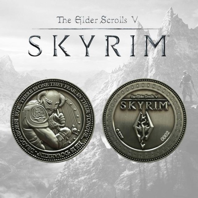 Skyrim: The Elder Scrolls V Limited Edition Coin - 1