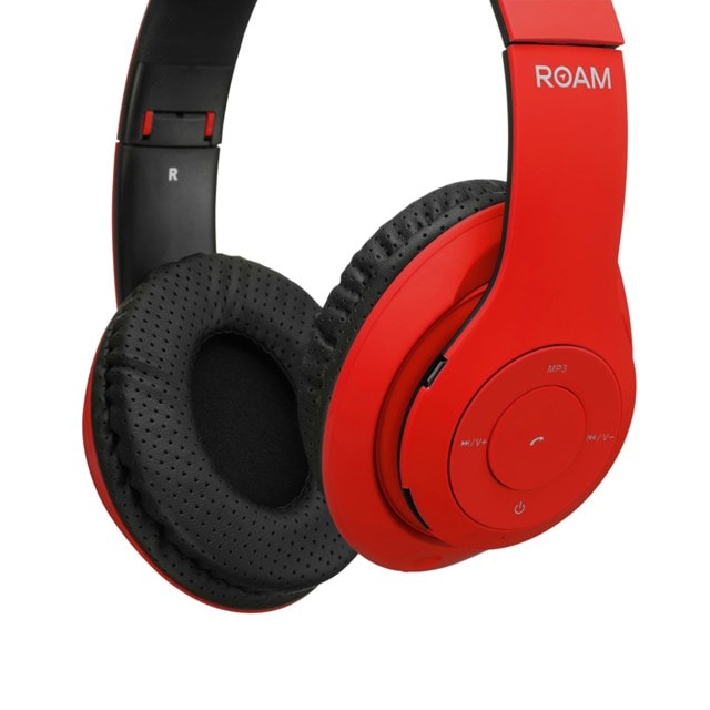 Roam Colours Red Bluetooth Headphones (hmv Exclusive) - 2
