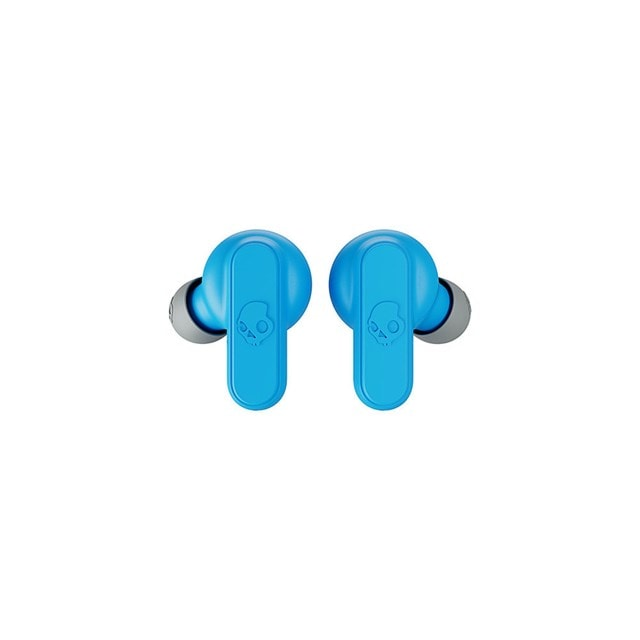 Skullcandy Dime Light Grey/Blue True Wireless Bluetooth Earphones - 3
