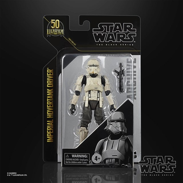 Hasbro Star Wars Black Series Archive Imperial Hovertank Driver Action Figure - 2