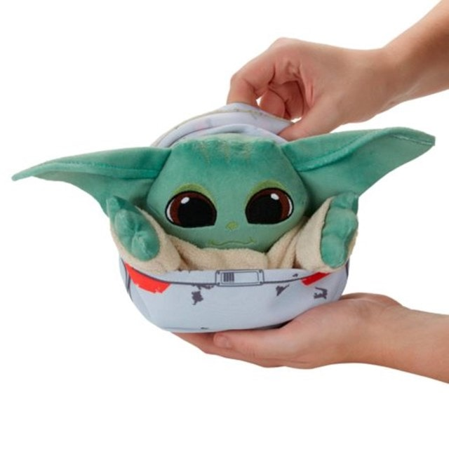Star Wars: The Child (Grogu Baby Yoda) Hideaway Hover-Pram Plush - 7