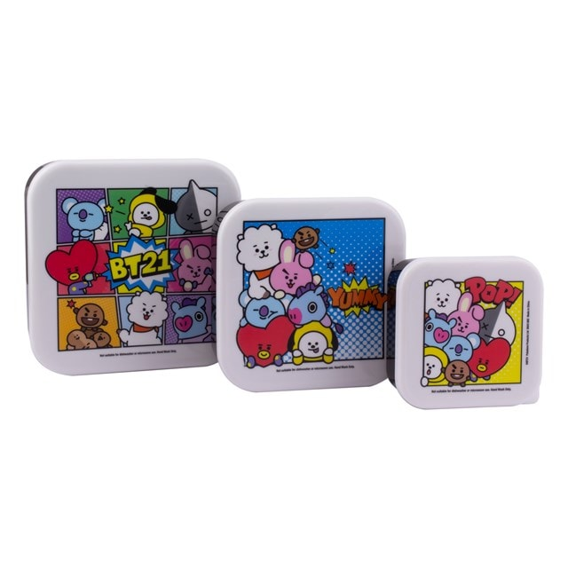 BT21 : Set of 3 Snack Boxes - 1