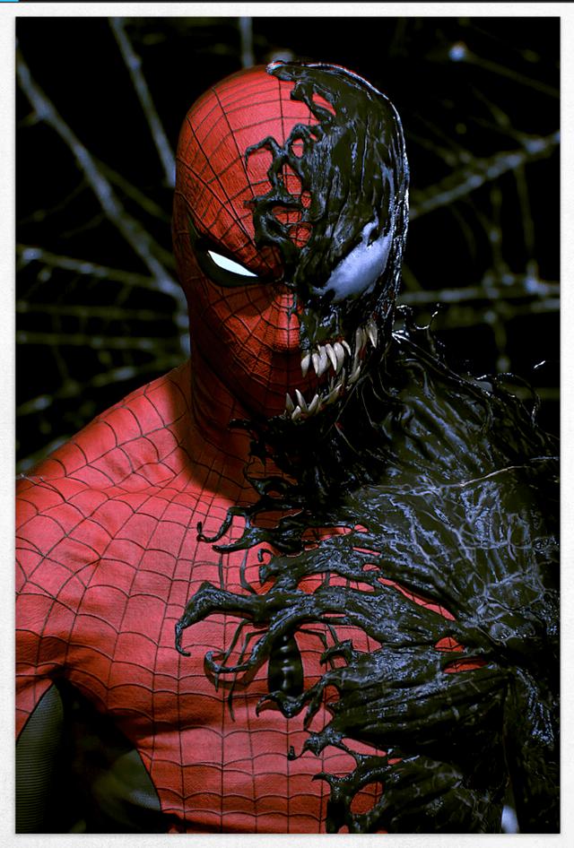 Spiderman Vs. Venom Limited Edition Fine Art Print - 1