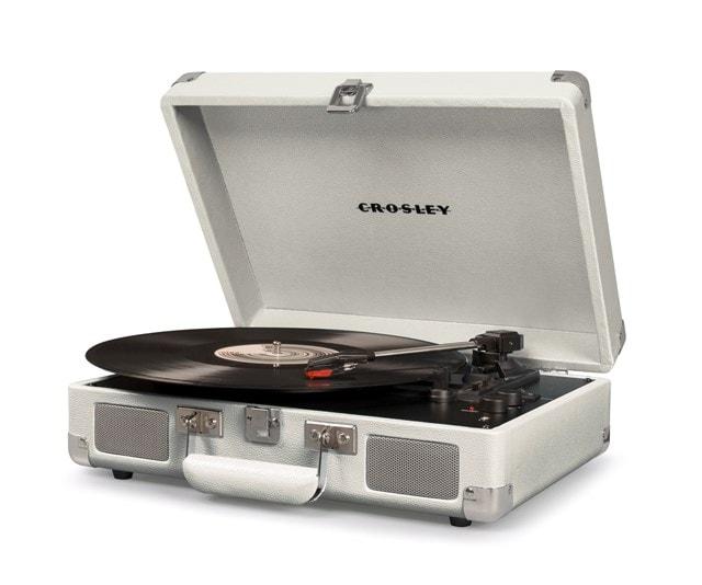 Crosley Cruiser Deluxe White Sand Turntable - 2