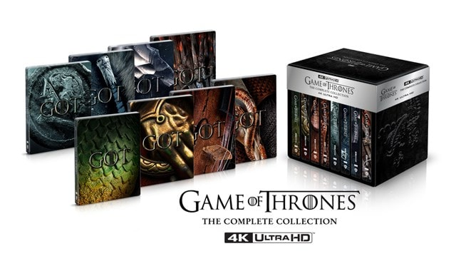 Game of Thrones: The Complete Seasons 1-8 Limited Edition 4K Ultra HD Steelbook Collection - 1