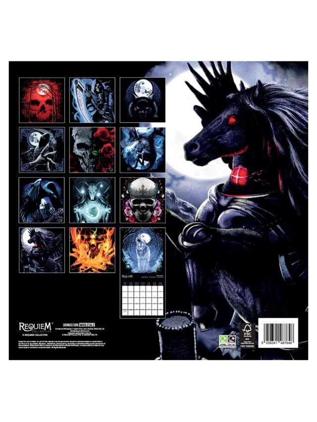 Requiem Collective: Square 2022 Calendar - 3