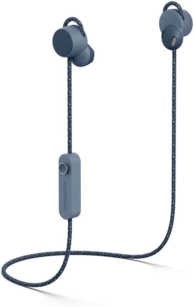 Urbanears Jakan Slate Blue Bluetooth Earphones - 2