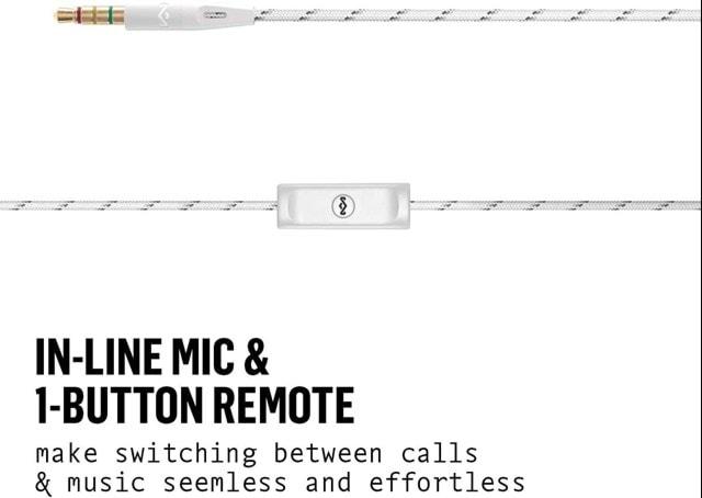 House Of Marley Uplift 2.0 Silver Earphones W/Mic - 3