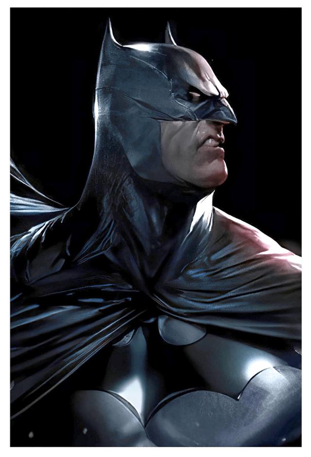 Angry Batman Limited Edition Fine Art Print - 1