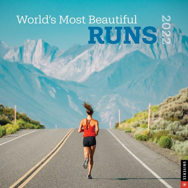 World's Most Beautiful Runs Square 2022 Calendar - 1