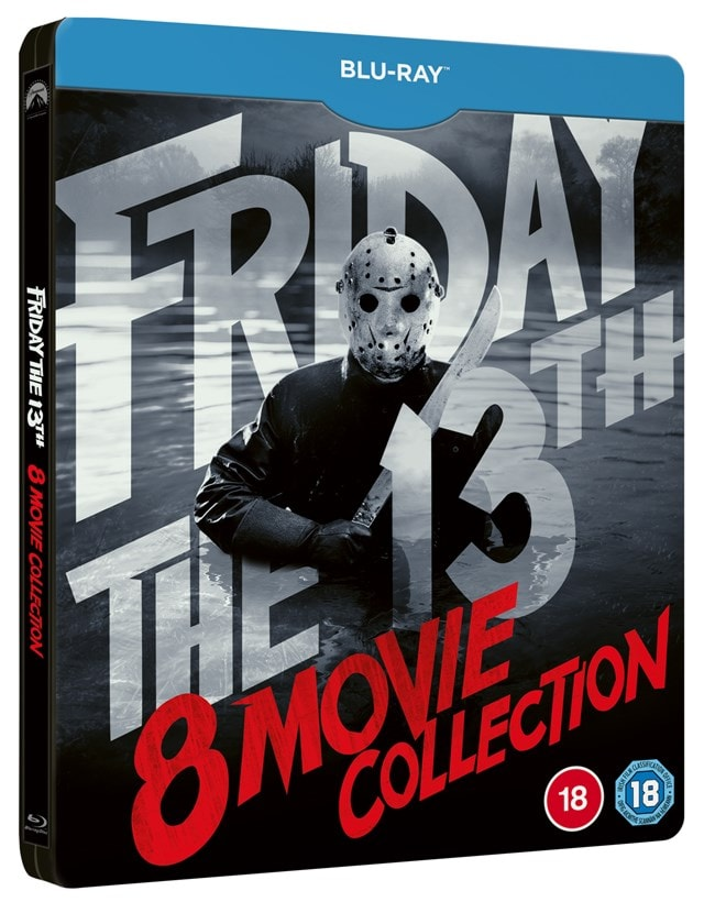 Friday the 13th: Parts 1-8 Limited Edition Steelbook - 3