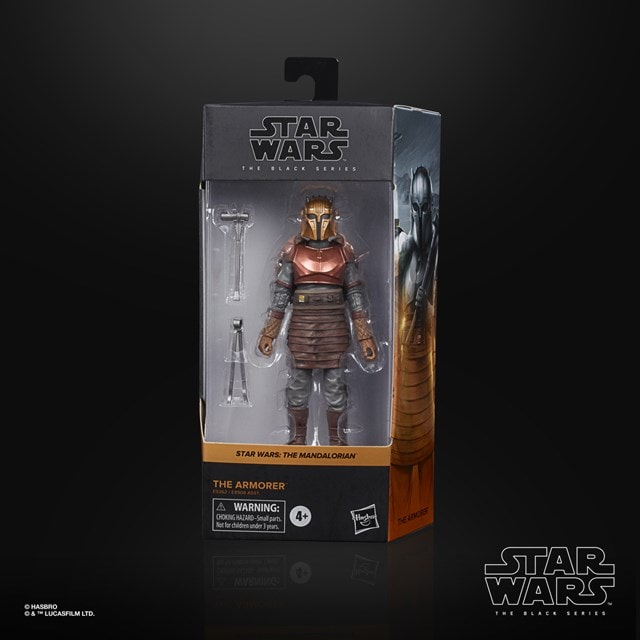 The Armorer: The Mandalorian: The Black Series: Star Wars Action Figure - 4