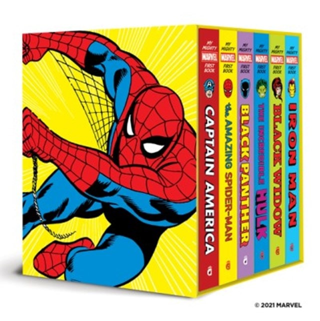My Mighty Marvel First Book Collection (A Mighty Marvel First Book) - 1