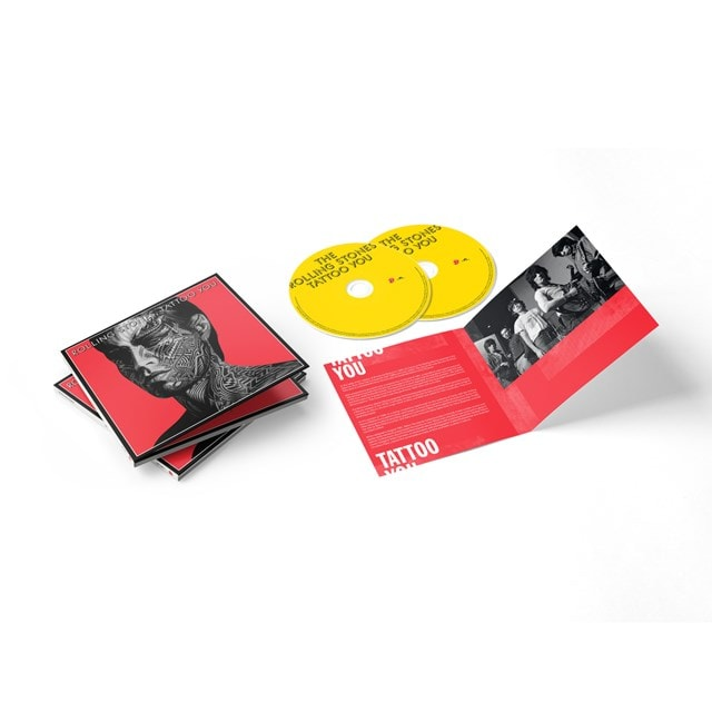 Tattoo You: 40th Anniversary Remastered Deluxe 2CD - 2