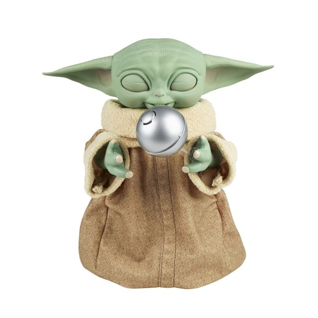 Star Wars Galactic Snackin' Grogu Integrated Play Soft Toy - 2