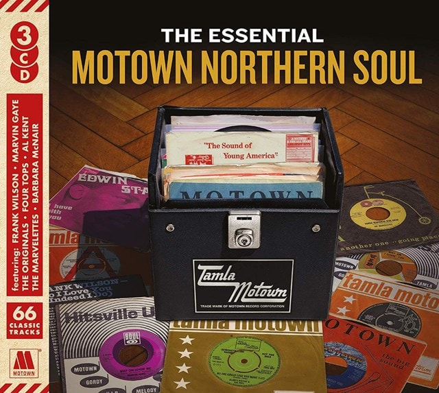 The Essential Motown Northern Soul - 1