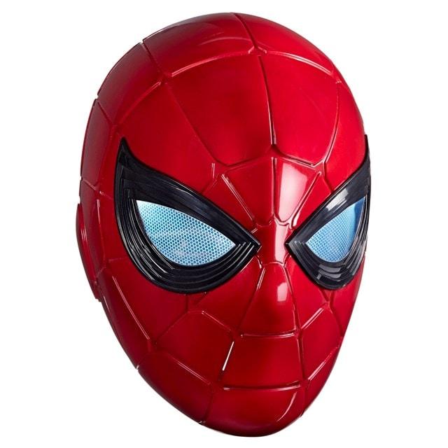 Iron Spider: Spider-Man Hasbro Marvel Legends Series Electronic Helmet - 11