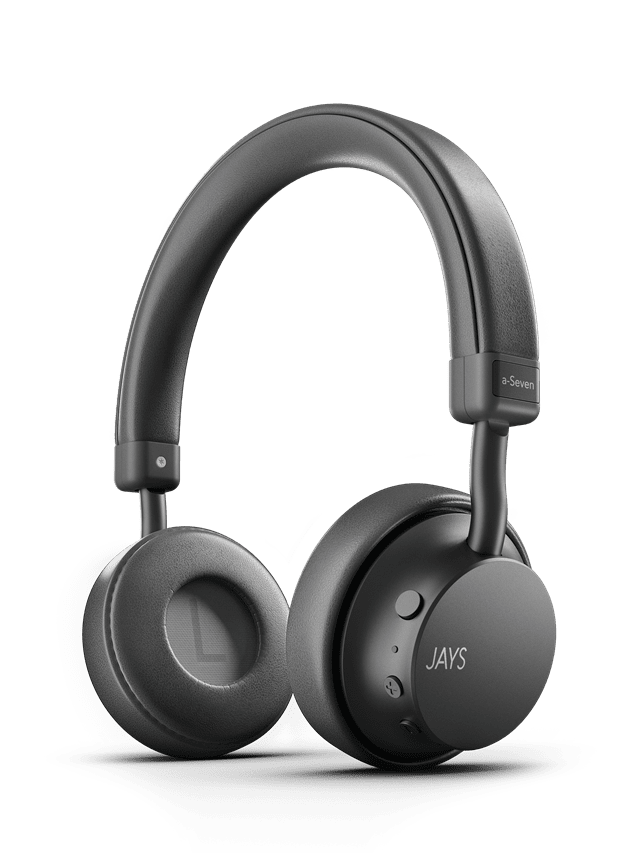 Jays A-Seven Grey Bluetooth Headphones - 1