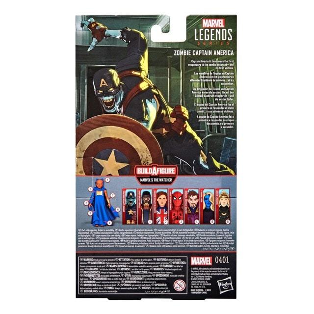 Zombie Captain America: Hasbro Marvel Legends Series Action Figure - 7