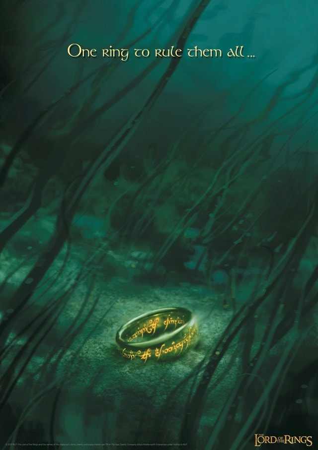 Lord of the Rings: One Ring Limited Edition Art Print - 1