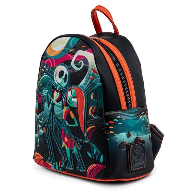 Nightmare Before Christmas: Simply Meant To Be Mini Loungefly Backpack - 2