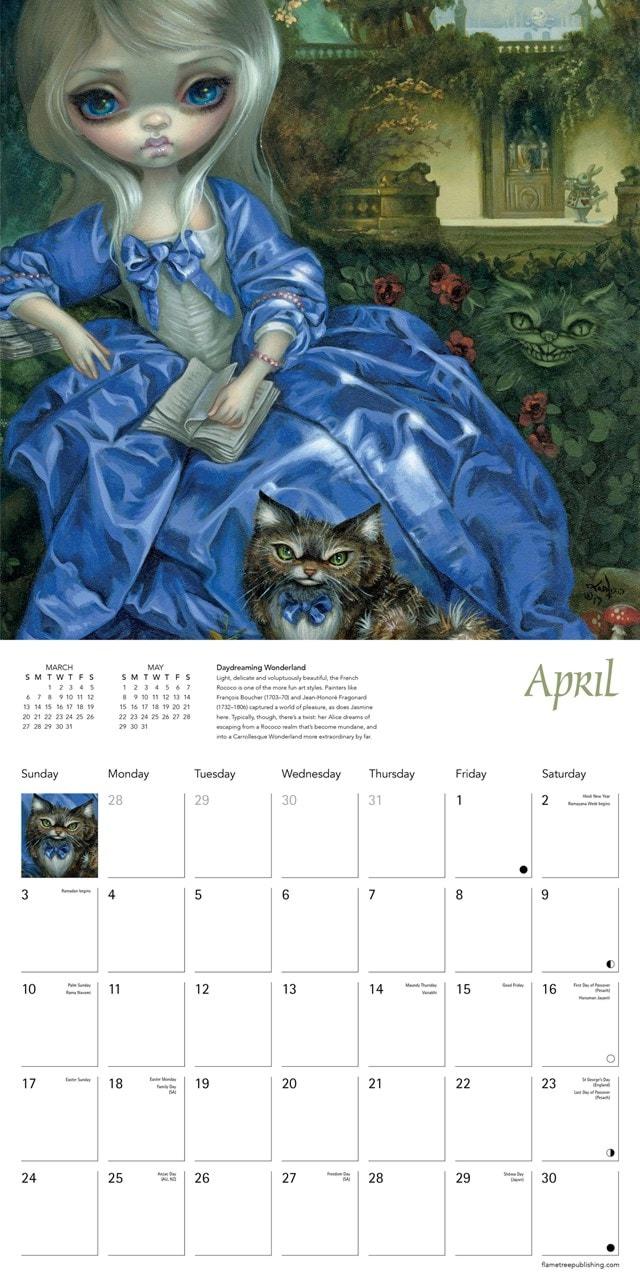 Strangeling: Jasmine Becket-Griffith Square 2022 Calendar - 2