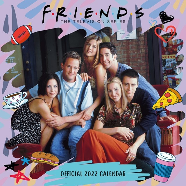 Friends Square 2022 Calendar - 1