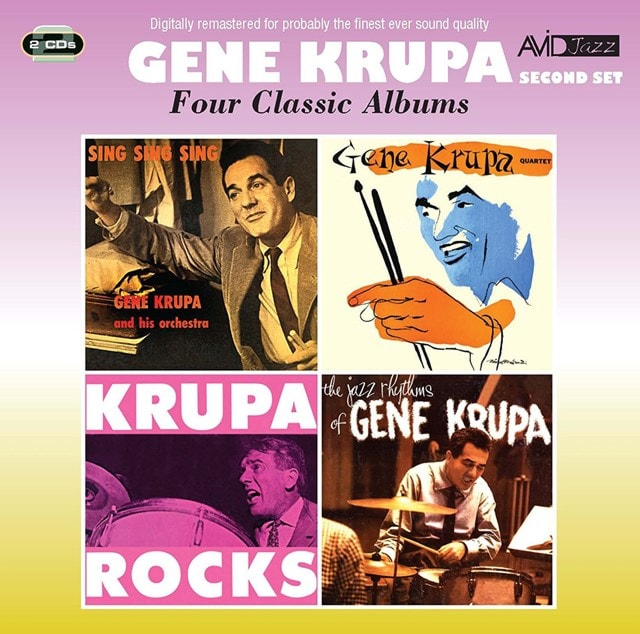 Five Classic Albums: Sing Sing Sing/Gene Krupa Quartet/Krupa Rocks/The Jazz Rhythms - 1