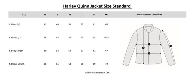 Harley Quinn Suicide Squad Faux Leather Jacket: Women's (Small) - 2
